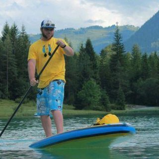Stan-Up-Paddeling mit Danny am Pillersee