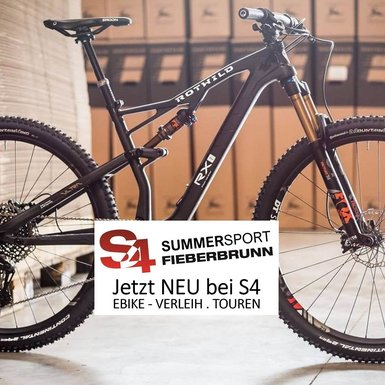 S4 Summersport - E-Bike Verleih