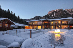 apartment_Steinplatte_Winter_nacht | © Apartment Steinplatte Tirol